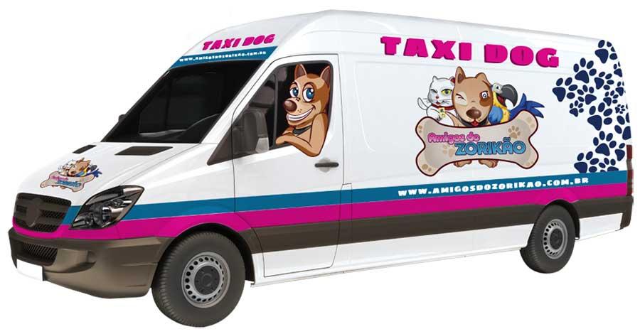 Taxi Dog Amigos do Zorikao